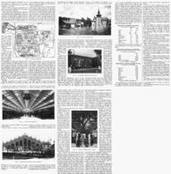 """L'EXPOSITION INTERNATIONALE  De """"  LYON """"     1914 - Auvergne"""