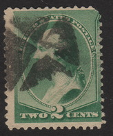 1887 US, 2c Stamp, Used, George Washington, Sc 213 - 1847-99 Emissioni Generali