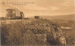 """HAN SUR LESSE-ROCHEFORT """"LE CHEMIN DE FER DE LA GROTTE"""" - Rochefort"""