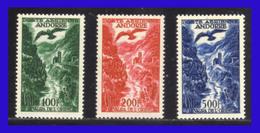 1955 - 57 - Andorra F. - Sc. C 02 - C 04 - Cdntrados Lujo - MNH - Valor Catalogo 175 € - AN-195 - 02 - Andorra Francesa