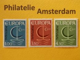 Portugal 1966, EUROPA/CEPT, Mi 1012-14, ** - Europa-CEPT