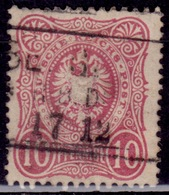 "Germany 1875, Imperial Eagle, 10 ""Pfennige"", Sc#31, Used - Germany"