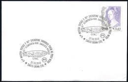 Italia Italy (2018) Special Postmark: Crema - 90° Ann. Spedizione Dirigibile Italia/90th Ann. Expedition Airship Italia - Polar Flights