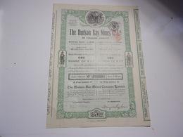 THE HUDSON BAY MINES (1911) New-liskeard , CANADA - Aandelen