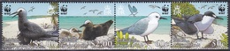 Pitcairn 2007 Tiere Fauna Animals Vögel Birds Oiseaux Aves Uccelli Seeschwalben Noddi Seevögel WWF, Mi. 717-0 ** - Briefmarken