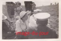 Photo Ancienne Camp De Vol A Voile D' Avranches 1935   Groupes De Volants  ( Aviation Planeur ) - Aviation