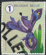 Belgique 2016 Oblitéré Used Fleur Flower Iris SU - Belgique
