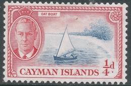 Cayman Islands. 1950 KGVI. ¼d MH. SG 135 - Cayman Islands
