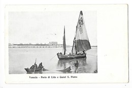 VENEZIA  - Porto Di Lido E Castel S. Pietro   -  L 1 - Venezia