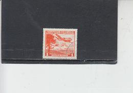 CILE  1960-62 - Yvert  A 191- Aereo - Cile