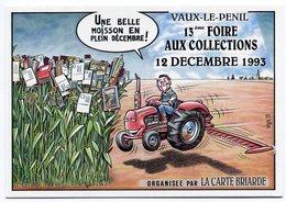 VEYRI - VAUX-le-PENIL - 13° Foire Aux Collections - 1993  - Tracteur - Voir Scan - Veyri, Bernard