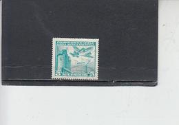 CILE  1960-62 - Yvert  A 195- Aereo - Cile
