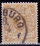 Germany, 1889-1900, Numeral, 3pf, Sc#46a, Used - Germany