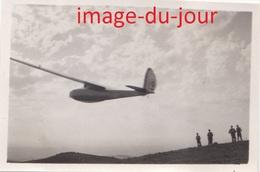Photo Ancienne Camp De Vol A Voile D' Avranches 1935   Planeur Plein Ciel  ( Aviation Planeur ) - Aviation