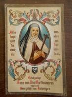 Oud Prentje 1938   Bevrijdster Van ANTWERPEN - Saints