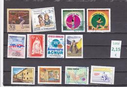 República Dominicana  -  Lotes  12   Sellos Diferentes  -  12/11094 - República Dominicana