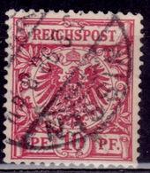 Germany 1889 - 1900, 10pf, Sc#48, Used - Germany