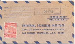 Venezuela Registered Air Mail Cover Sent To USA 1964 Single Franked - Venezuela