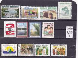 República Dominicana  -  Lotes  12   Sellos Diferentes  -  12/11095 - República Dominicana