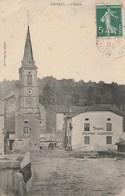 Vigneul,l église,tabac Pierret,auberge - France
