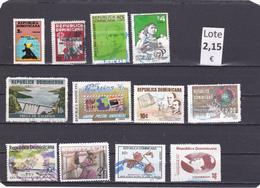República Dominicana  -  Lotes  12   Sellos Diferentes  -  12/11097 - República Dominicana