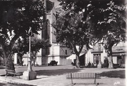 Carte 1960 CAPESTANG / PLACE JEAN JAURES - Capestang
