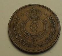1960 - Jordanie - Jordan - 1379 - 5 FILS - KM 9 - Jordanie