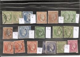 Grands Hermes,Jolie Petite Collection,belle Qualite ,numerotation Aprocximative,!!! A Voire... - 1861-86 Grands Hermes