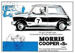 [MD2506] CPM - MORRIS COOPER S - AUTO - Non Viaggiata - Cartoline