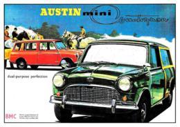 [MD2507] CPM - AUSTIN MINI - AUTO - Non Viaggiata - Cartoline