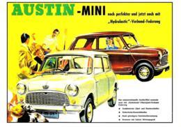 [MD2508] CPM - AUSTIN MINI - AUTO - Non Viaggiata - Cartoline