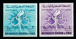 Yemen (Reino) Nº Yvert 163/4 En Nuevo - Yemen