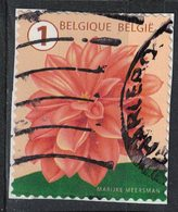 Belgique 2016 Oblitéré Used Fleur Flower Dahlia SU - Belgique