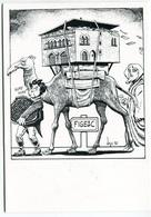 VEYRI - Carte Pour L'association Des Collectionneurs De Figeac - Champollion - 1990 - Voir Scan - Veyri, Bernard
