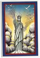 VEYRI - Statue De La Liberté - CP Personnelle Di Folco - 1989 - Voir Scan - Veyri, Bernard