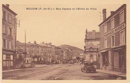 Billom Rue Carnot ( A Noter Un Plis Aux Milieux) - Frankrijk