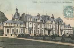 62 - VELU - Le Chateau En 1907 (belle Carte Couleur) - France