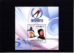 Olympics 2002 - Snowboard - MOZAMBIQUE - S/S MNH - Winter 2002: Salt Lake City