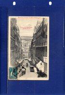 ##(ROYBOX1)-Postcards- Portugal - Lisboa -  Rua Do Carmo-Ponte Do Ascensor Santa Justa - Used 1913 - Lisboa