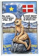 """VEYRI - Le DANEMARK - Série """"Les 12 De L'Europe"""" Chat - 1993 - Voir Scan - Veyri, Bernard"""