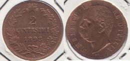 Italia 2 Centesimi 1898R KM#30 - Used - 1861-1946 : Regno