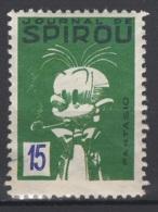 Journal De Spirou. Timbre Représentant Fantasio D'une Valeur De ? 15 ?. Original !!! - Fantasie Vignetten