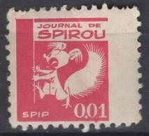 Journal De Spirou. Timbre Représentant  Spip, D'une Valeur De ? 0,01 ?. Original !!! - Fantasie Vignetten
