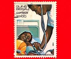 GUINEA BISSAU - 1984 - 11° Anniversario Dell'indipendenza - Sanità - 12 - Guinea-Bissau