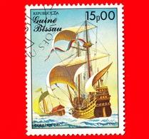 GUINEA BISSAU - 1985 - Navi A Vela - Velieri - Dutch Carrack - 15.00 - Guinea-Bissau