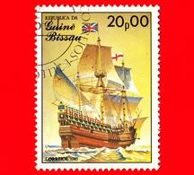 GUINEA BISSAU - 1985 - Navi A Vela - Velieri - Mayflower, Sec. 17 - 20.00 - Guinea-Bissau