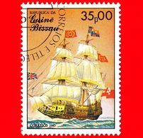 GUINEA BISSAU - 1985 - Navi A Vela - Velieri - Royal Sovereign - 35.00 - Guinea-Bissau