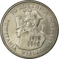 Monnaie, Pologne, 100 Zlotych, 1988, Warsaw, TTB+, Copper-nickel, KM:182 - Pologne