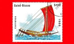 GUINEA BISSAU - 1988 - Navi - Velieri - Egitto - Egipcio 3 300 AC - 5 - Guinea-Bissau