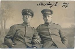 Fotokaart / 1914-18 - Personen